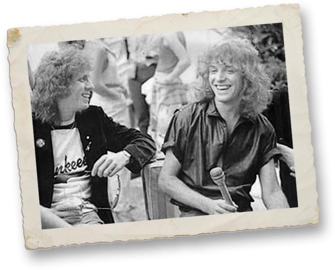 Jamie Oldaker and Peter Frampton