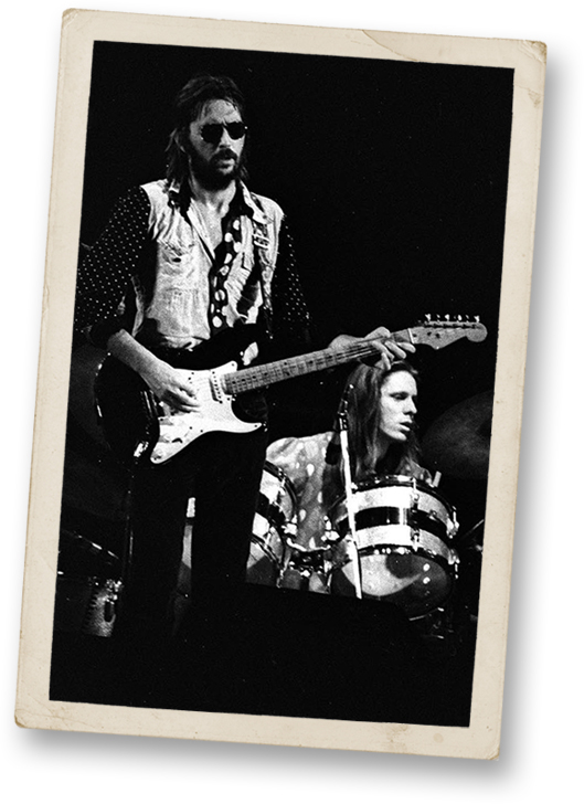 Eric Clapton and Jamie Oldaker
