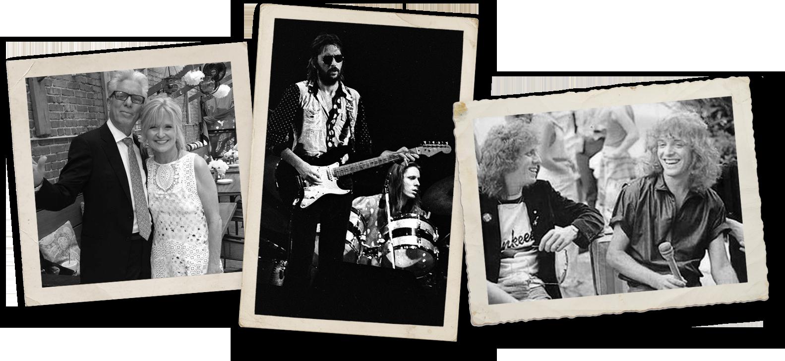 Jamie and Mary Oldaker | Eric Clapton and Jamie Oldaker | Jamie Oldaker and Peter Frampton